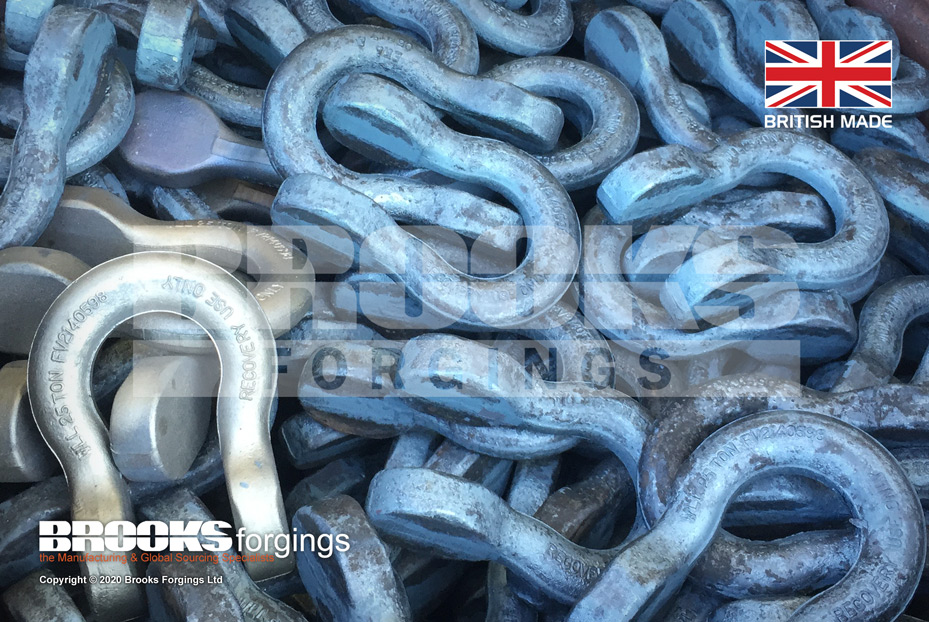 FV2140598 NSN-4030-99-930-5251 Recovery Shackle