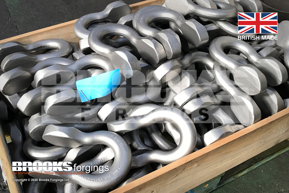 FV2140599 NSN-4030-99-300-2678 Recovery Shackle MOD