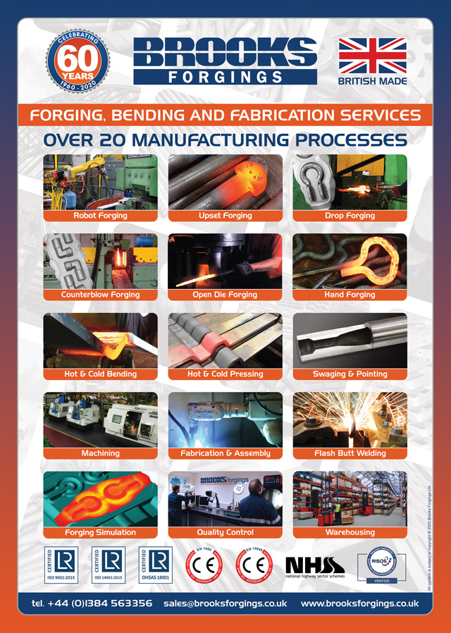 brooks forgings manufacturing processes