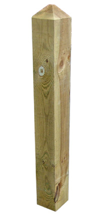 Image result for wooden post