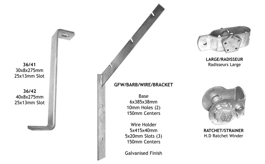 gate and fencing accessories