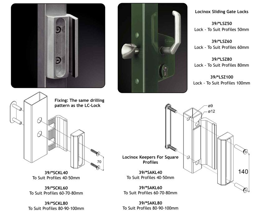 locks and accessories