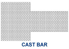 cast bar grain flow