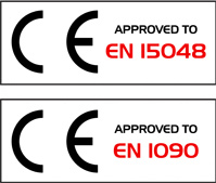 CE EN15048 EN1090 approved