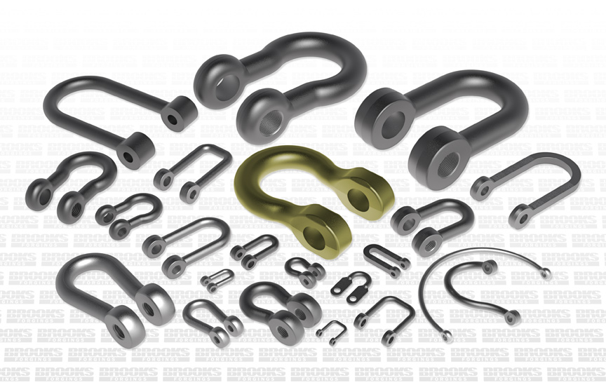 forged shackles range manufacturer in the uk