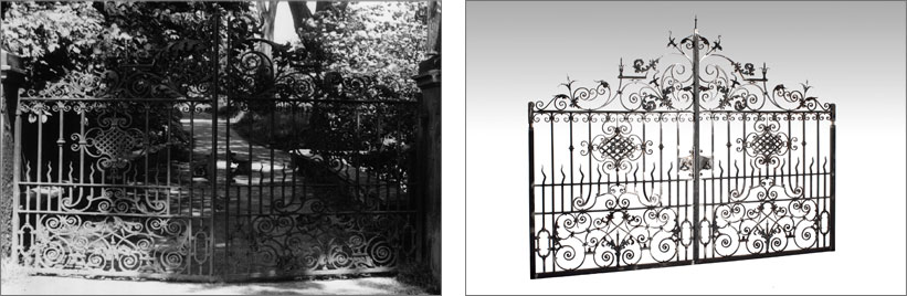 heritage and replication wrought ironwork