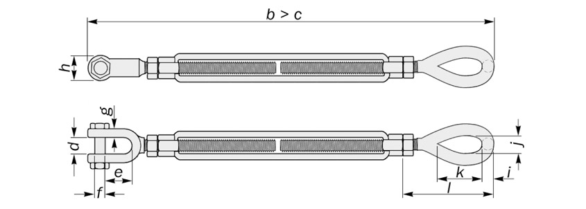 eye to jaw turnbuckles us federal diagram drawing