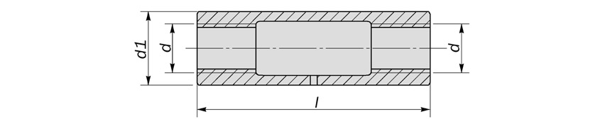 round turnbuckle closed body diagram drawing