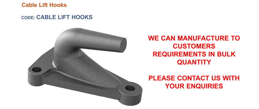 cable lift hooks
