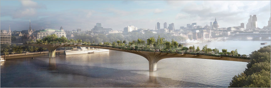 London Garden Bridge Project