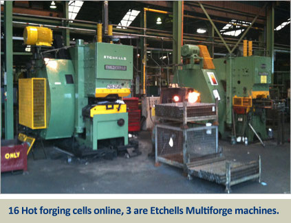 etchells horizontal multiforge machines