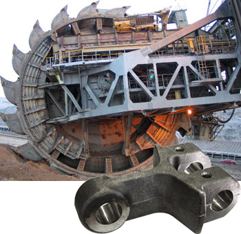 mining & excavation components spares