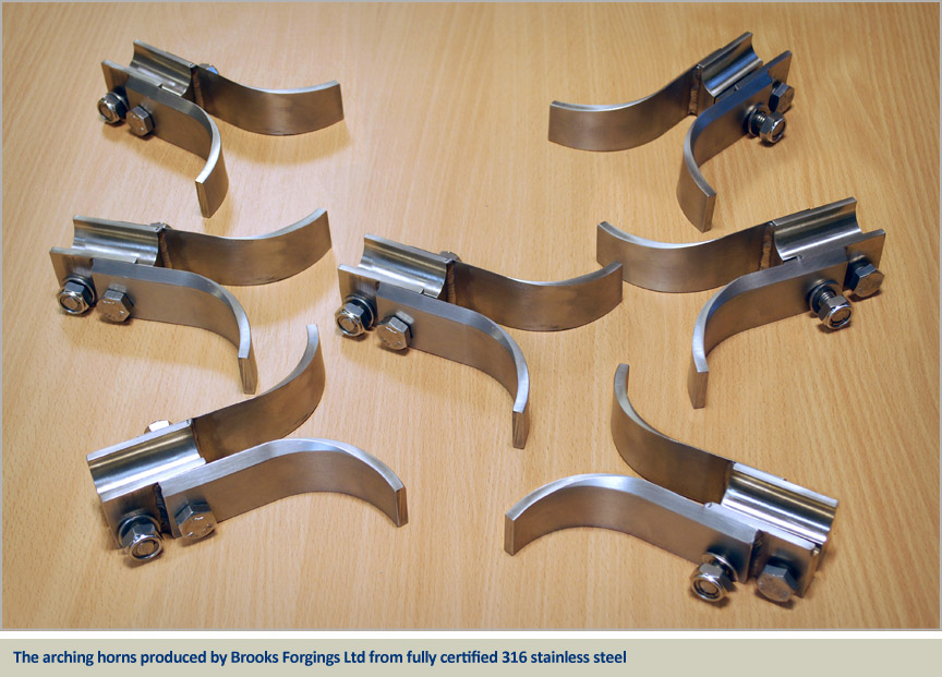 arching horns for rail industry stainless steel