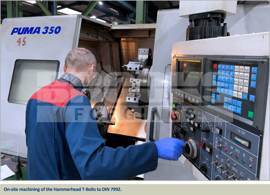 machining of foundation bolts for the hinkley point c nuclear power station