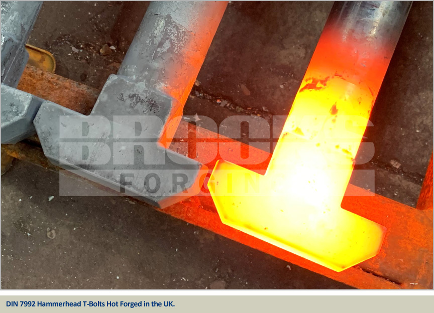 hinkley point hot forged hammerhead bolts DIN 7992