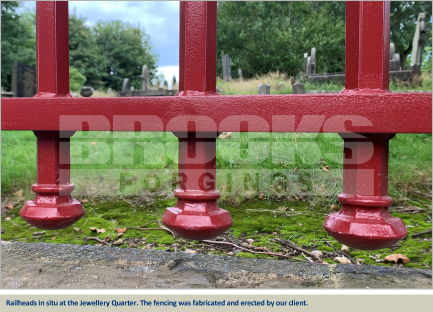 jewellery quarter cemeteries heritage project railings