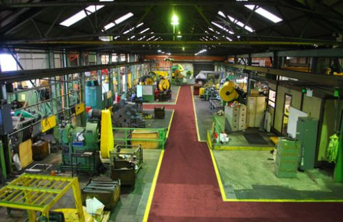 reducing carbon footprint in manufacturing