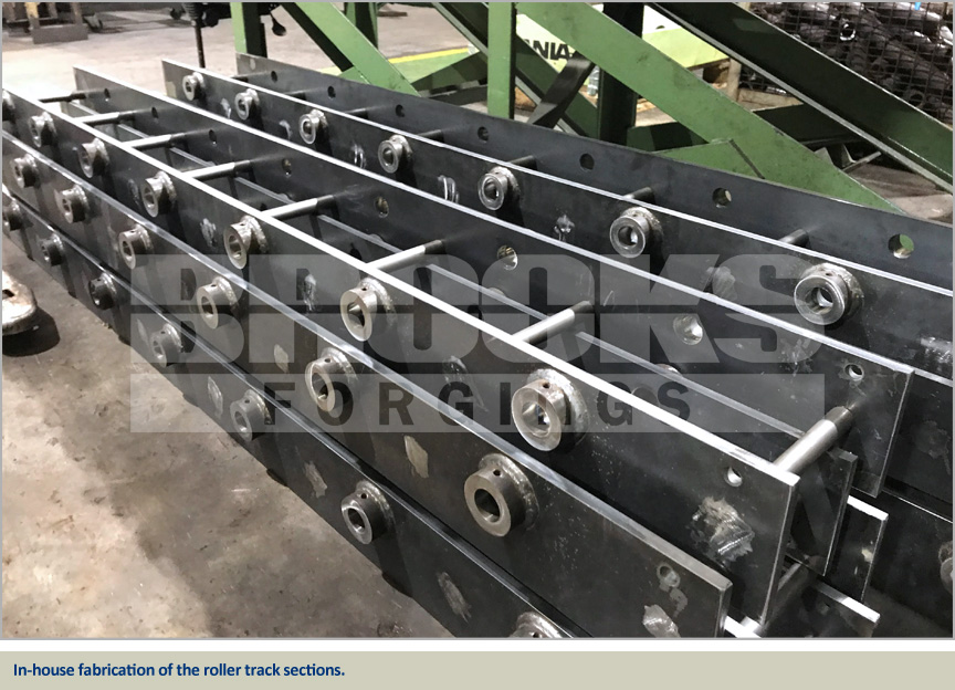 roller track fabrication