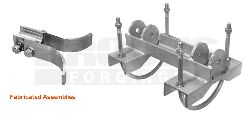 rail industry fabrications bracketry drop tubes brackets