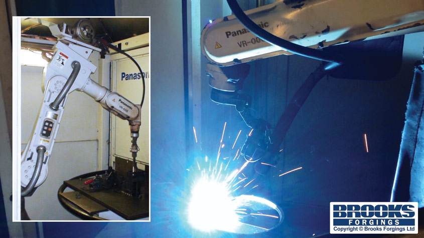 robot welding service uk panasonic vr-006