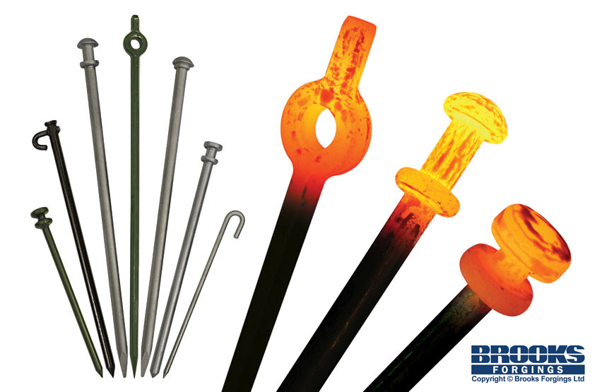 tent pegs and marquee stakes manufacturer in the UK  sc 1 st  Brooks Forgings Ltd & Tent Pegs / Marquee Stakes UK Manufacturer - ©2018 Brooks ...
