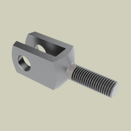 Clevis End with External Thread - Basic