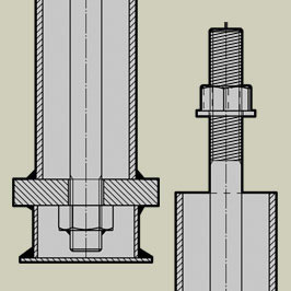 Bolt Assemblies - With Tube, Plate, Lugs & Box