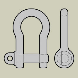 BS3032 - Bow Shackles - Large