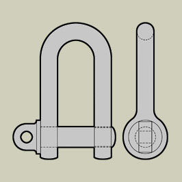 BS3032 - D Shackles - Small