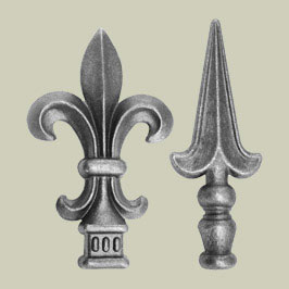 Railheads & Finials