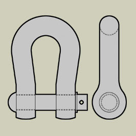 BS3288 - Overhead Power Line Shackles