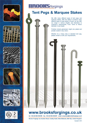 Tent Pegs & Marquee Stakes