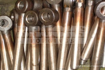 14 - Stainless steel 20mm eye bolts