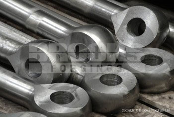 26 - Fully machined 52mm diameter eye bolts