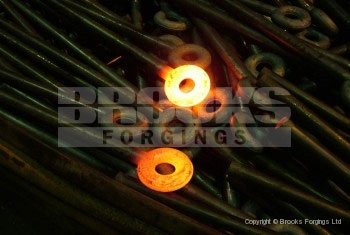 28 - Round section swing bolt forged blanks