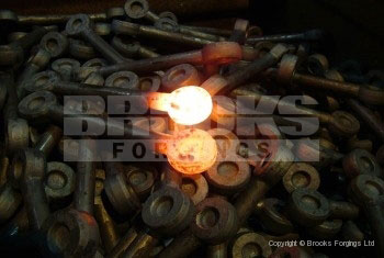 55 - 1 inch shackle eye bolt forgings