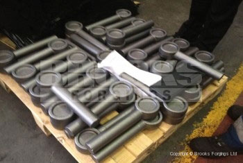 60 - Special eye bolt forgings, 52mm diameter x 400mm