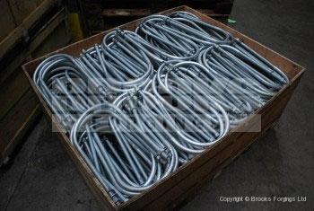 20 - Holding Down Bolts - Galvanised U Bolts
