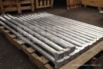 24 - Holding Down Bolts - BS7419 SQ SQ Bolts Galvanised