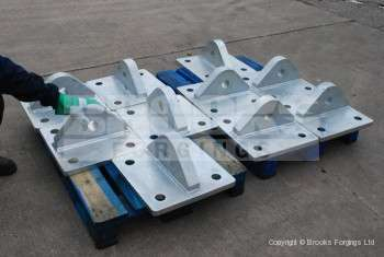5 - Fabricated base plates for mooring installation
