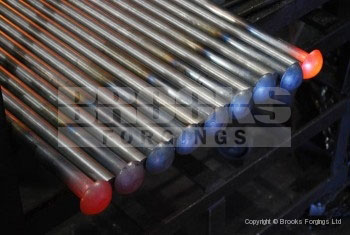 30 - Upset forged cup head bolt blanks
