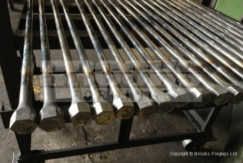 50 - Upset forged torsion bars in low volume