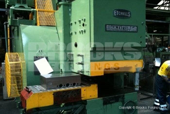 52 - Etchells multiforge - 250 tonne horizontal upset forging machine with quick change tooling