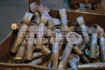 55 - Upset forged special eyebolt blank forgings