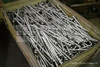 60 - Upset forged 16mm tent pegs for Ministry of Defence
