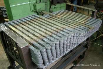 62 - Upset forged stainless steel 20mm SQ shackle blanks