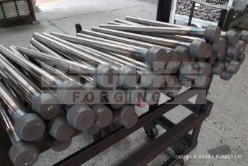 79 - Upset forging usages in hastelloy material