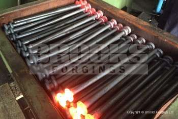 87 - Upset forging Tent Pegs Stakes