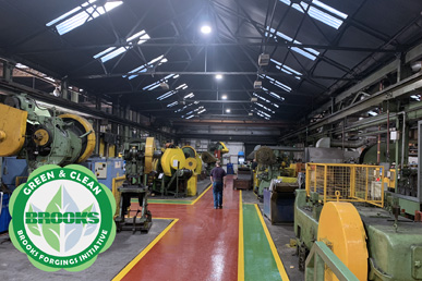 LED Lighting Installed in 7 Bays at Manufacturing Site To Reduce Carbon Footprint