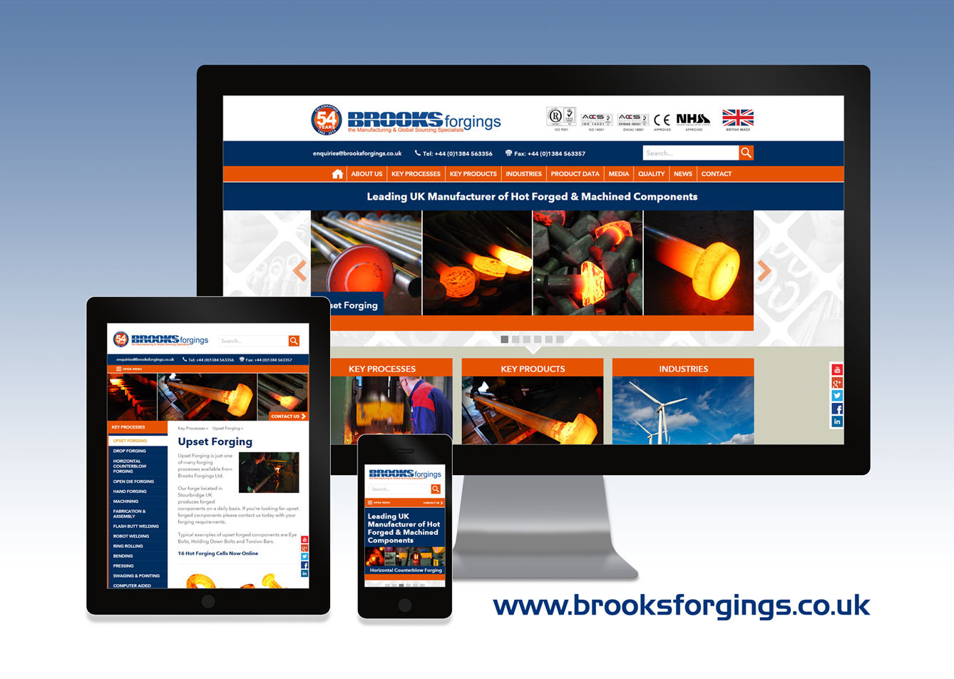 Brooks start 2015 with New Website